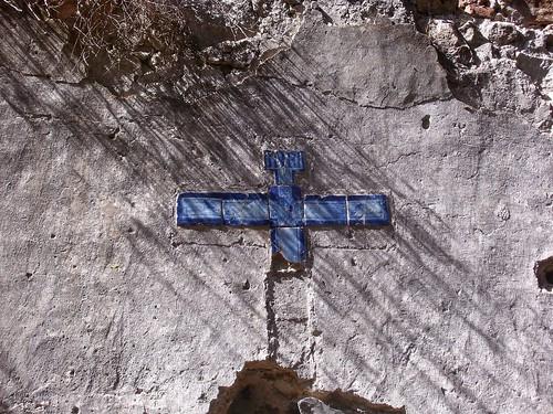 Monchique - Convento Nossa Senhora De Desterro - Tiled Cross