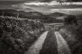 Lake District Farm Track