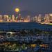 A San Diego Full Moon