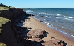 A view from East Point (Kennuth) Tags: unlimitedphotos coast beach seaside water cliffs sea sand shore ocean rocks eastpoint princeedwardisland canada