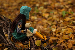Fall (Luthigern) Tags: bjd dollmore zaoll luv outfit morigirl mori girl teddy