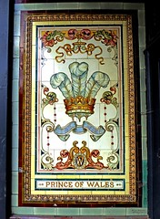 Prince- Bowes Park (Draopsnai) Tags: prince princeofwales pubsign tiles old fleurdelis trinityroad finsburyroad woodgreen haringey