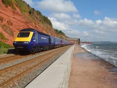 43037 Dawlish (Marky7890) Tags: gwr 43037 class43 hst 1a83 dawlish railway station devon train