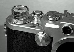Nicca Camera Co., Ltd. 3-F (www.yashicasailorboy.com) Tags: nicca 3f film 35mm camera japan rangefinder rf 1950s closeup macro studio collection photography fujifilm finepix s9900w