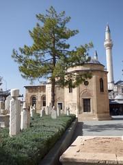 Konya - Mevlana Turbesi, tombs and rosemary (damiandude) Tags: rumi dervish sufi