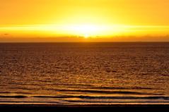 Yellow and gold at sunrise (Kirkleyjohn) Tags: suffolk sunrise sunshine sun morning morninglight sea seaside seashore water waves yellow gold light lowestoft kirkley lowestoftsouthbeach
