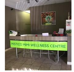 store entrance (Misticomimiwellness) Tags: brantford wellness health yoga aromatherapy reiki crystal healing himalayan salt sauna fitness ontario canada