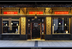 GRAN CAFE ZARAGOZA (wuploteg1) Tags: alfonso i aragon aragones aragonese aragons caf cafe calle gran saragossa street zaragoza aragn spain