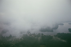() Tags: film mz5 pentaxmz5 colournegative 35mm clouds trees water fog aerial berlin2014 ethereal softness