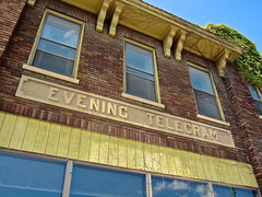 Evening Telegram, Herkimer, NY (Robby Virus) Tags: herkimer newyork ny upstate state evening telegram times newspaper newspapers building architecture press journalism