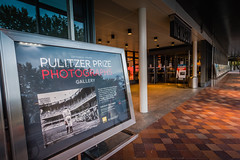The program marked the reopening of the Pulitzer Prize Photographs Gallery.