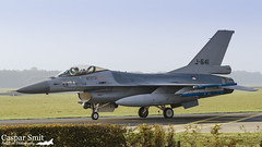 F R I E N D L Y (Caspar Smit) Tags: rnlaf f16 falcon viper fightingfalcon j641 volkel ehvk aircraft fighter jet aviation airforce airplane nikon d7000 coldiglo