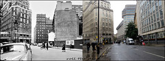 Broadway`1959-2016 (roll the dice) Tags: london westminster sw1 sad mad ww2 bombs old local history architecture streetfurniture nostalgia retro bygone comparison shops fashion closed demolished dwelling flats canon tourism fifties pillarbox police site rubble iconic changes collection tube underground exit entrance transport traffic whitevan roundel oldandnew pastandpresent hereandnow londonist uk art classic urban england bicycle dirty clean crossing ladder windows royle wet rain scotlandyard tower
