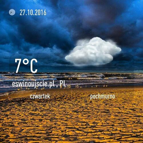 #pogoda #eswinoujscie #świnoujście #swinoujscie #plaża #plaza #październik