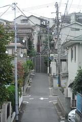 tokyo6096 (tanayan) Tags: urban town cityscape tokyo japan akabane nikon j1    road street alley slope