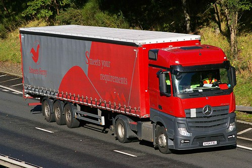 MB Actros MP4 - SMEETS FERRY Ipswich