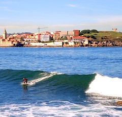 2016-10-30_12-08-26 (acorsinofdez) Tags: playadesanlorenzo playa beach surf ola waves sea mar
