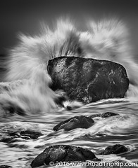 California Central Coast (Road Trip Rip) Tags: black white california central coast pacificocean ocean longexposure road trip pch pacif water
