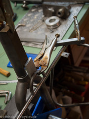 Brazing small parts