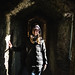 Inside Caerphilly Castle, Wales