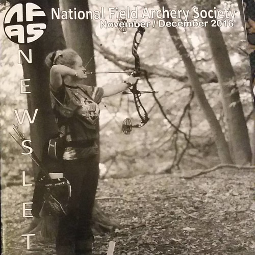 Really proud to be on the front of the NFAS magazine this issue the photo was taken at the NFAS Nationals this year where I came in 1st for ladies Bowhunter class. Thankyou to my sponsors #doinker #doinkon #doinkerstabilizers  And to everyone who supporte