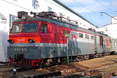 VL10-871 (zauralec) Tags: rzd ржд локомотив поезд депо электровоз kurgan depot курган vl10 вл10 vl10871 871 вл10871
