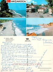 Akçakoca - Düzce (talatwebfoto1) Tags: şehir plajfotoğrafı akçakoca düzce renkli arkasıyazılı 1960sonrası