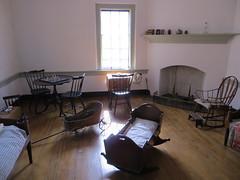Playroom, John Vogler house (Joel Abroad) Tags: oldsalem northcarolina johnvogler silversmith watchmaker house workshop playroom