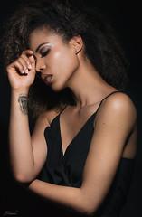 Angela (Nedla Ph. Fotografa - Nicols Lanfranco) Tags: portrait girl beauty light beautiful studio nikon glamour fashion love lovely pretty model black hair sensuality sexy sensual picture photography retouching retouch retoque picoftheday nedla