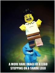 sharkMEME (LegoKlyph) Tags: lego meme shark step silly bricks minifigure goof memes