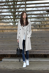 Burberry Trench (betrenchcoated) Tags: trenchcoat raincoat regenmantel trench beautifulgirl doublebreasted buttons liner