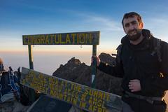 Summit of Mt Meru (davpen) Tags: africa tanzania sunrise conditions location mountain seashore