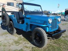 1962 Willys CJ3B (splattergraphics) Tags: 1962 willys jeep cj3b suv 4x4 americanmotors carshow carlisle springcarlisle carlislepa