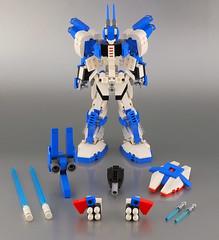 Lego Seraph 05 (guitar hero78) Tags: lego moc mecha mech robot toys fujifilm xe1 60mm fujinon