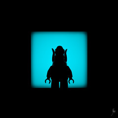 Shadow (267/100) - Watto (Ballou34) Tags: 2015 ballou34 blackwhite canon flickr lego light minifigures shadow 650d afol eos eos650d legographer legography photography rebelt4i stuck plastic t4i toy toys rebel photgraphy 2016 enevucube minifigure 100shadows watto character alien star wars sw starwars