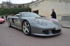 Porsche Carrera GT Edo Comptition (Monde-Auto Passion Photos) Tags: auto automobile porsche carrera gt edo comptition coup gris france rally paris evenement