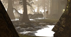 Avilion Nexus (Osiris LeShelle) Tags: secondlife second life avilion nexus sim beautiful landscape swamp misty scary