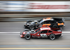 Modifed racing at Wall Stadium (Joseph Hoetzl) Tags: wallstadium motorsports speed modified modifieds speedway racing walltownship newjersey unitedstates us