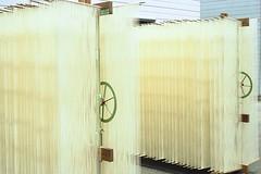 Shodoshima Somen Noodles Sakubei (bortx_) Tags: shodoshima somen noodles sakubei japan drying tradition cuisine food gastronomic analogue film kodak portra 160 japn fideos tradicin gastronomia comida analgico canon at1 pelcula  fdlens