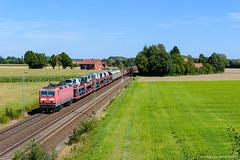 143 321 - Bückeburg (tog-i-danmark) Tags: hsrw eisenbahn horo ez51204 dbcargo august seelzerbf 143321 2016 verkehrsmittel bückeburg osnabrückrbf seggebruch niedersachsen deutschland de