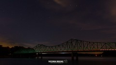 Browns Bridge at Night (The Suss-Man (Mike)) Tags: autumn bridge brownsbridge fall forsythcounty gainesville georgia hallcounty lake lakelanier lanier nature sonya550 sunset sussmanimaging thesussman water