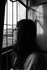Urbes (SANCHEKY) Tags: pensativa chica dia lluvioso raining ventada