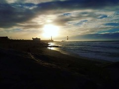 Lighthouse (Ouissal) Tags: lighthouse rabat morocco beach sunset