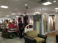 Curtains at JCPenney. (coreynellis) Tags: departmentstores sofas furniture houseware curtains jcpenney elcajoncalifornia parkwayplazamall