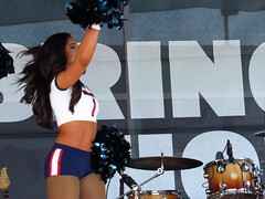 IMG_6880 (grooverman) Tags: houston texans cheerleaders nfl football game nrg stadium texas 2016 budweiser plaza nice sexy legs stomach canon powershot sx530