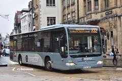 Thames Travel 862, CF57OXF. (EYBusman) Tags: thames travel go ahead bus coach oxford city centre company mercedes benz citaro connector x32 eybusman cf57oxf