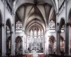 Denver Catholic Cathedral (Dennis Herzog) Tags: church churches cathedral cathedrals denver colorado catholic catholicchurches catholiccathedral catholiccathedrals architecture interiors