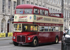 CUV248C (RCL2248 / 290) AEC Routemaster of Mac Tours in Edinburgh (Ian Press Photography) Tags: bus buses edinburgh scotland tourist tourism double decker doubledecker open top opentop transport cuv248c rcl2248 aec routemaster mac tours 290