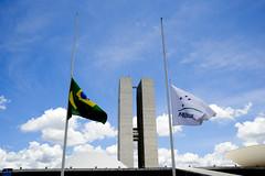 Fotos produzidas pelo Senado (Senado Federal) Tags: bie congressonacional bandeiradobrasil bandeiradomercosul meiomastro tragédia chapecoense quedadeavião brasília df brasil bra