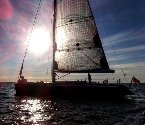 """#sailing #Deluxe mit der #embersea vor #heiligendamm - """"Temposegeln"""" auf der #Ostsee #MVnow #sportsharing #hansesail #balticsea #segeln #sailingyacht #brenta"""